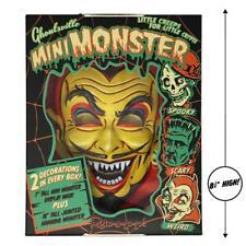Ghoulsville Fun House Devil Mini Monster Vac-tastic Plastic 3-D Mask Wall Decor