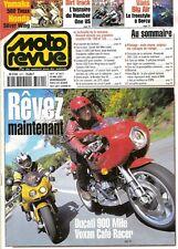 MOTO REVUE 3471 DUCATI 900 MHE VOXAN HONDA 600 SILVER WING YAMAHA 500 T MAX 2001