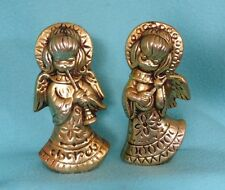 "Vintage Japan Angels in Gold - 6-61/4"" Tall"