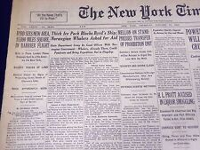 1930 JANUARY 23 NEW YORK TIMES - BYRD SEES NEW AREA SHIP BLOCKED - NT 1671