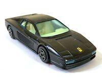 Bburago Ferrari Testarossa 1/43 Italy Vintage Toy Car Diecast M621