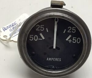WW2 Jeep Ford GPW Amperes Gauge Rebuilt Original