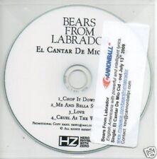(496Q) Bears From Labrador, El Cantar De Mio Cid- DJ CD