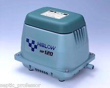 HIBLOW HP-120-LL LONG LIFE HD NEW SEPTIC AIR PUMP POND AERATOR DIY