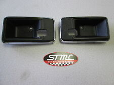 1977 78 79 80 81 CAMARO PAIR OF INNER DOOR HANDLE BEZELS ESCUTCHEONS