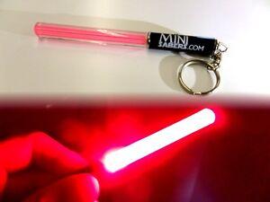 Pocket Star Wars Light Saber RED Keyring Torch Party Clubbing Dance Stick GIFT