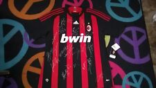 A.C. MILAN SIGNED 2009 ADIDAS SOCCER JERSEY