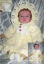 "Crochet pattern Baby/Reborn ""Creme Brulee"", MPN CRO110  by Frandor Formats"