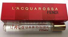 L'Acquarossa by Fendi for Women 0.25 oz Mini Eau de Parfum Spray NIB