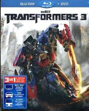 TRANSFORMERS 3 (BLU-RAY + DVD) NUOVO, ITALIANO