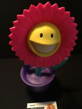 Ron English Flower Grin Pink Glow In The Dark Made by Monsters Edition of 30 AP