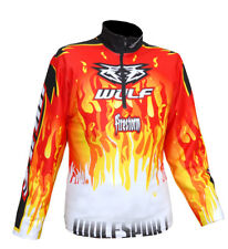 Kids Wulfsport Firestorm Trials Top Red