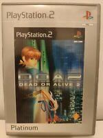 Dead or Alive 2 -- Platinum Edition (Sony PlayStation 2, 2000)