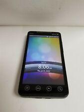 HTC EVO 4G 512MB Black PC36100 (Sprint) Great Phone Discounted JW9385