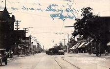 Cheney Washington~Main Street~Meat Market~Garage~Ice Cream~Blew Tire~c1914 RPPC