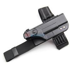 Black Tactical Gun Right Drop Leg Thigh Holster for GLOCK 17 18 19 21 22 23 26