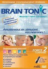 DVD BRAIN TONIC Force 2 Confirmé - Musclez votre cerveau ! (neuf sous blister)