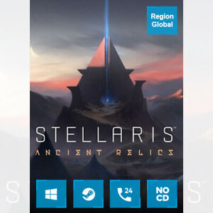 Stellaris Ancient Relics Story Pack DLC for PC Game Steam Key Region Free