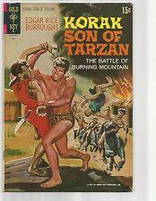 KORAK SON OF TARZAN #42 FN  FINE OW/WHITE PAGES BRONZE COMIC GOLD KEY 1971