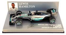 Minichamps Mercedes W06 Australiano GP 2015-Lewis Hamilton Campeón del mundo 1/43