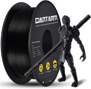 PETG Filament per Stampante 3D, GIANTARM 1.75mm, AA-Nero