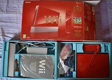 Video Gioco Retro Game Console Nintendo PAL Nintendo Wii 25 Anniversary rossa