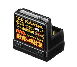 Sanwa RX-482 Telemetry/SSL Receiver SA107A41257A