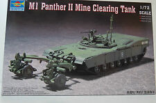 Tanques m1 Panther II mina clearing Tank Trumpeter 007280 nuevo embalaje original (FS)