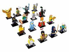 LEGO 71011 Collectible Pack Case Minifigures Series 15 Complete Set of 16