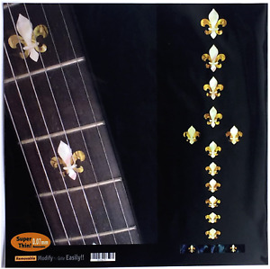 1 Set Guitar Fretboard Inlay Stickers Decals