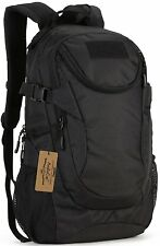 Military Backpack Waterproof 25L Rucksack Gear Tactical Assault Pack Black