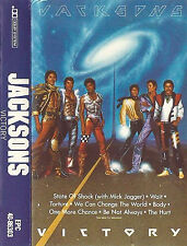 Jacksons ‎Victory CASSETTE ALBUM Synth-pop Downtempo Soul Disco MICHAEL JACKSON