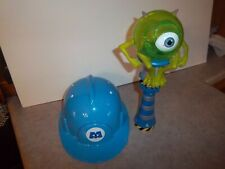 Monsters Inc Blue Hard Hat & Spinning Light Souvenirs isney on Ice Sully Mike