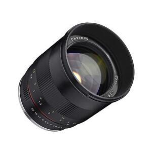 Samyang MF 85 mm F1.8 ED UMC CS Sony E-Mount Lens  - Prime/Fixed Lens Black