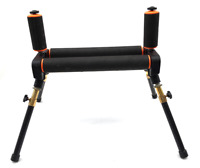 BZS Match 4 Leg Competition Fishing Pole Roller with Extending Legs