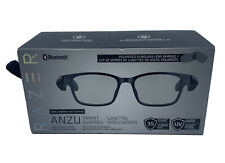 Razer Anzu Smart Glasses (Small Medium) Rectangle Frame Bundle Blue Light Filter