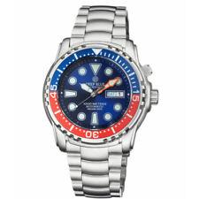 Deep Blue Pro Sea Diver 1000 Automatic Blue Dial Pepsi Bezel Watch