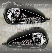 ADESIVI DECAL STICKER GRAFICHE PER SERBATOIO HONDA SHADOW VT 600 CUSTOM BOBBER