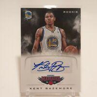 2012-13 Panini Marquee Rookie Signatures Kent Bazemore #58 RC Auto Warriors