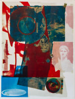 Robert Rauschenberg Quarry Local One (Foster 63) Unsigned Litho mid century Art