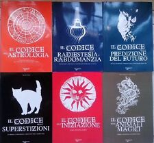 Lotto 6 titoli esoterici De Vecchi editore, superstizioni, iniziazione, astrolog