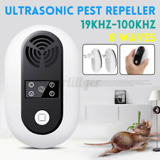 Ultrasonic Plug In Pest Repeller Electronic Mouse Mice Insect Rat Rodent  2020
