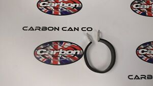 Carbon Can Co. Quality oval Stainless Exhaust Can Hanger/Strap. fits 110mm Ø