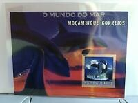 Mozambique 2002 World of the Sea Whales MNH imperf  stamp  sheet R24515
