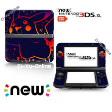 Ci-Yu-Online [new 3DS XL] Pokemon Pikachu Dark  VINYL SKIN STICKER DECAL COVER