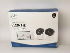 eufy Security, Video Baby Monitor w/ Camera&Audio, 2-Cam Kit, 720p Hd