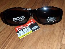 unisex suncover surroundRx ~ fits over eye glasses Sunglasses like solar shield