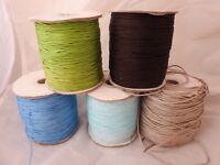 Shamballa Corde de nylon 1.5mm, macramé, Kumihimo, joaillerie ficelle