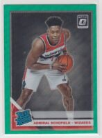 2019-20 Admiral Schofield Optic Green Wave Prizm Basketball Rookie Card # 187