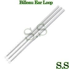 3 Pcs Billeau Ear Loop Ent Surgical Medical Instruments